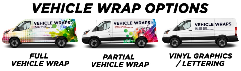 Nellis AFB Vehicle Wraps vehicle wrap options