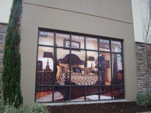 custom vinyl window