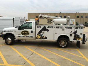Branded Work Truck Wrap