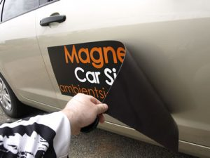 Vehicle Magnet, Magnetic Car Sign