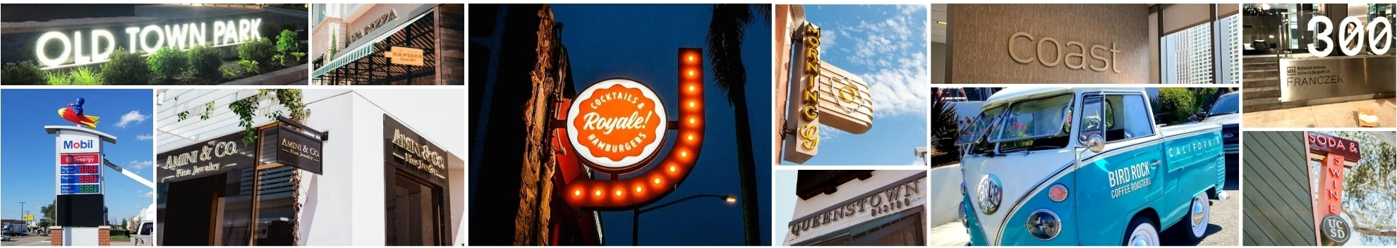 Las Vegas sign company project examples